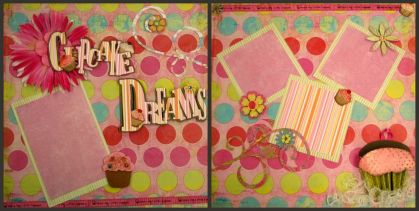 cupcake dreams collage